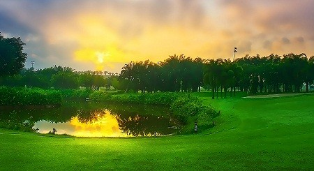 long thanh golf resort tour